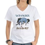 Wild Horse Attitude Women's V-Neck T-Shirt