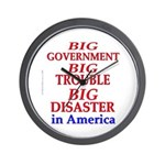 Big Government Wall Clock