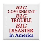 Big Government Tile Coaster