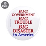 """Big Government 3.5"""" Button (10 pack)"""