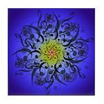 Indigo Mandala Tile Coaster