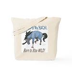 Wild Horse Attitude Tote Bag