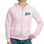 Wild Horse Attitude Women's Zip Hoodie