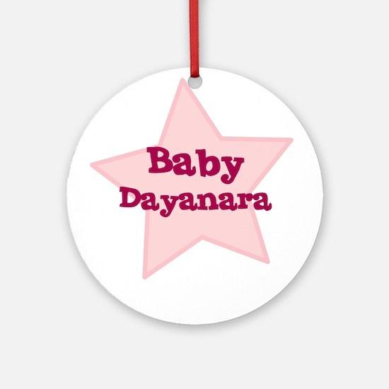 Baby Dayanara Ornament (Round)