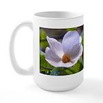 Dogwood Flower Art Large Mug