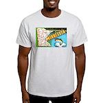 1940's Minnesota Map Light T-Shirt