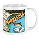 1940's Minnesota Map Mug