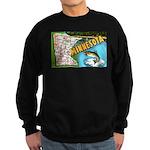 1940's Minnesota Map Sweatshirt (dark)