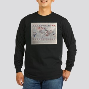 Vintage British Empire World M Long Sleeve T-Shirt