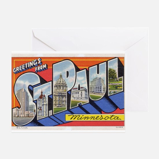 Greetings from St. Paul Greeting Card