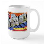 Greetings from St. Paul Large Mug