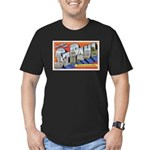 Greetings from St. Paul Men's Fitted T-Shirt (dark