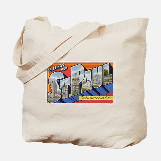 Greetings from St. Paul Tote Bag