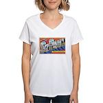 Greetings from St. Paul Women's V-Neck T-Shirt