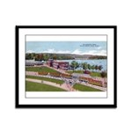 Wildwood Park Framed Panel Print