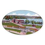 Wildwood Park Oval Sticker (50 pk)