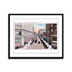 1924 Downtown Saint Paul Framed Panel Print