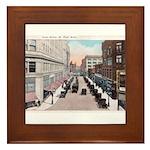 1924 Downtown Saint Paul Framed Tile