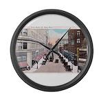 1924 Downtown Saint Paul Large Wall Clock