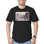 1924 Downtown Saint Paul Men's Fitted T-Shirt (dar