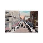 1924 Downtown Saint Paul Rectangle Magnet (10 pack