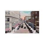 1924 Downtown Saint Paul Rectangle Magnet (100 pac