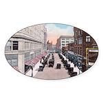 1924 Downtown Saint Paul Oval Sticker