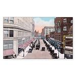 1924 Downtown Saint Paul Rectangle Sticker 50 pk)