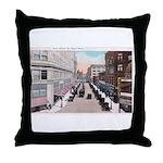 1924 Downtown Saint Paul Throw Pillow