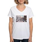 1924 Downtown Saint Paul Women's V-Neck T-Shirt