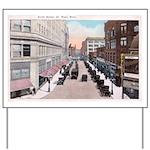 1924 Downtown Saint Paul Yard Sign