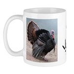 Wild Turkey and Tracks Mug