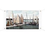 1906 Dellwood Club House Dock Banner