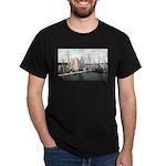 1906 Dellwood Club House Dock Dark T-Shirt