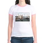1906 Dellwood Club House Dock Jr. Ringer T-Shirt