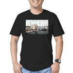 1906 Dellwood Club House Dock Men's Fitted T-Shirt