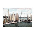 1906 Dellwood Club House Dock Mini Poster Print