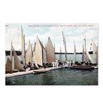 1906 Dellwood Club House Dock Postcards (Package o