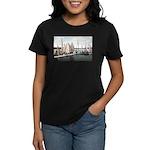 1906 Dellwood Club House Dock Women's Dark T-Shirt