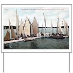1906 Dellwood Club House Dock Yard Sign
