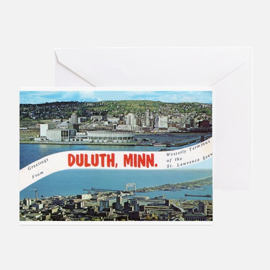 Greetings from Duluth Greeting Card
