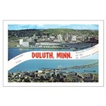 Greetings from Duluth Large Poster