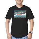 Greetings from Duluth Men's Fitted T-Shirt (dark)