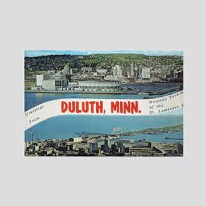 Greetings from Duluth Rectangle Magnet