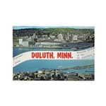 Greetings from Duluth Rectangle Magnet (10 pack)