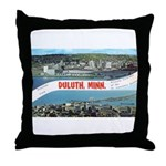 Greetings from Duluth Throw Pillow