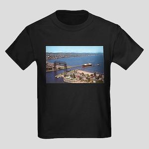 Duluth Harbor Kids Dark T-Shirt