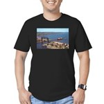 Duluth Harbor Men's Fitted T-Shirt (dark)