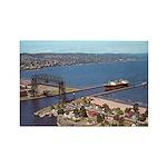 Duluth Harbor Rectangle Magnet (100 pack)