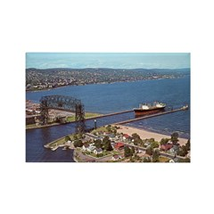 Duluth Harbor Rectangle Magnet (100 pack)